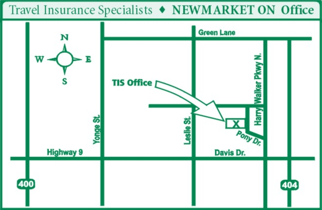 Travel Insurance Specialists Office - 160 Pony Drive Newmarket ON